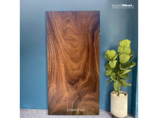 Mặt bàn gỗ me tây 210x97x7cm