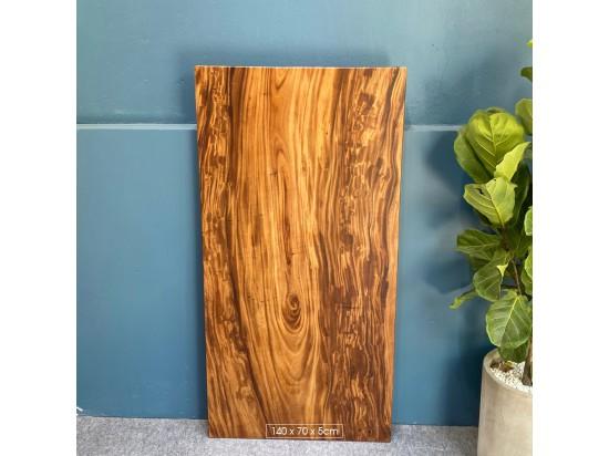 Mặt bàn gỗ me tây 140x70x5cm
