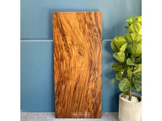 Mặt bàn gỗ me tây 160x70x5cm