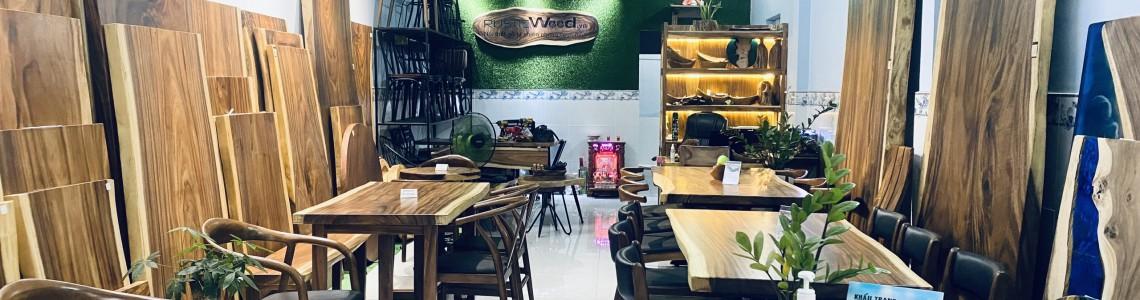 Địa chỉ mua bàn gỗ me tây nguyên tấm tại TPHCM uy tín